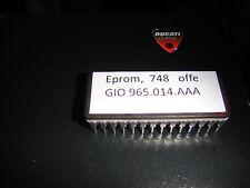 ►1X EPROM CHIP für DUCATI 748 Mono,Biposto MODELLE und IAM 16 ECU OFFEN Exhaust