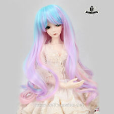 "9-10"" 1/3 BJD or 70cm Dollfie DREAM Luts AOD Dod SOOM DZ WIG Mix color Hair #124"