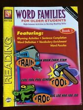 Remedia Publications Word Families for Older Students Book 1 Grades 3 up rem454c