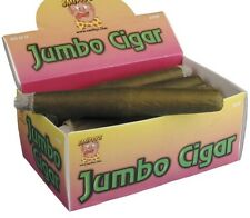 Cowboy Gangster Fancy Dress Fake Jumbo Cigar with Lit Effect 21cm New by Smiffys