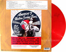 BOB WILLS & His Texan Playboys LP Transcriptions RECORD STORE DAY Red Vinyl 2014