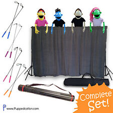 Professional Puppet Ministry Starter Set Lot | Puppet Stage, Puppets, Arm Rods