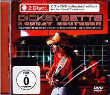 DICKEY BETTS & GREAT SOUTHERN black where it all begins - live CD NEU OVP/Sealed