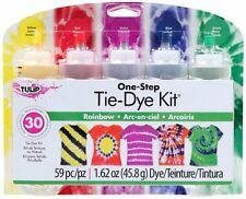 Tulip One-Step 5 Color Tie-Dye Kits Rainbow,1.62oz , New, Free Shipping