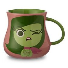 NEW DISNEY STORE EXCLUSIVE INSIDE OUT DISGUST CHARACTER MUG PIXAR CERAMIC CUP