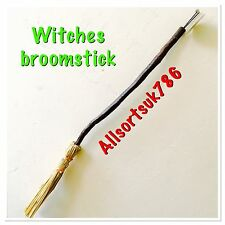 2 X Witches Broom Stick Sticks Bamboo Broomstick Halloween Free Postage