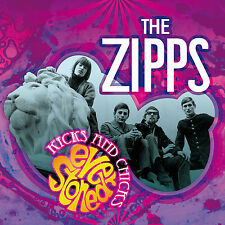 "The Zipps:  ""Kicks And Chicks:  Ever Stoned""   + unreleased Tracks (Digipak CD)"