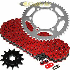 Red O-Ring Drive Chain & Sprockets Kit Fits YAMAHA TTR230 TT-R230 2005-2016