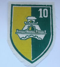 10th field construction   vintage american  vietnam  cloth patch
