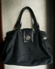 KATE SPADE NYLON AND LEATHER  HANDBAG-BLACK