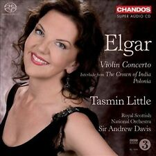 Plays Works By Elgar: Violin Cto / Polonia, New Music