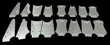 16pc. Cigar Box Guitar Headstock Shaping Templates - with tuner holes! 42-003-04