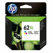 HP 62 XL Ink Cartridges - Colour - For use with HP Envy 5640 Printers