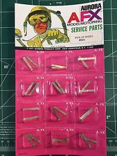 ORIGINAL AURORA AFX MODEL MOTORING SERVICE PARTS PICK UP SHOES 8521 CARD OF 12