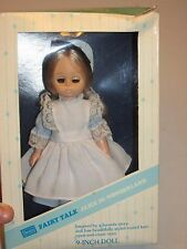 "Vintage in Box!! Sears Alice in Wonderland Doll * 9"" Tall * FREE SHIPPING!!"