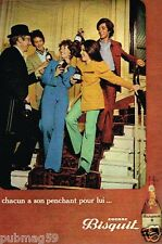 Publicité advertising 1972 Le Cognac Bisquit