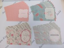 Floral Paper Insert Kit (24 Sheets) for A7 Cards 102x144mm Cardmaking AM728