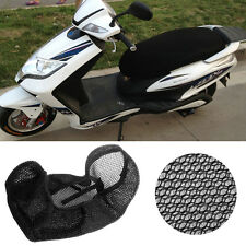 3D Motorcycle Electric Bike Breathable Net Seat Cover Protector Cushion 85x50cm
