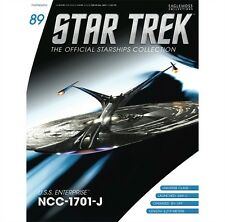 Star Trek Starships Magazine #89 Eaglemoss USS Enterprise NCC-1701-J 1701 1701J