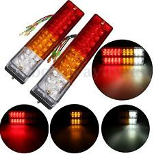 2x LED Stop Rear Tail Reverse Light Turn Indicator Ute Truck Trailer Caravan 12V