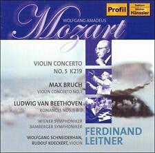 Mozart: Violin Concerto No. 5; Bruch: Violin Concerto No. 1; Beethoven; Romances