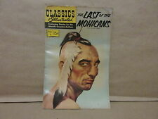 Classics Illustrated #4 1943 Last of the Mohicans James Fenimore Cooper Comic