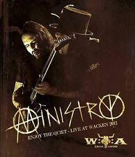 MINISTRY: ENJOY THE QUIET - LIVE AT WACKEN 2012 Blu-Ray - Ships in 12 hours!!!