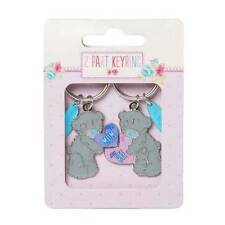 ME TO YOU MUM MY BFF HEART TATTY TEDDY BEAR 2 PART KEYRING NEW GIFT G01K0202