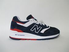 New Balance 997 Made in USA Navy White Red Sz 9.5 M997CYON