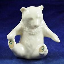 LENOX China Jewels Collections, Made in USA, Released in 1992, BEAR FIGURE F729