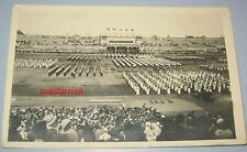 Sokol Falcon meeting games Zagreb 1934 Kingdom Yugoslavia Croatia photo postcard