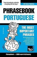 English-Portuguese Phrasebook and 3000-Word Topical Vocabulary by Andrey...