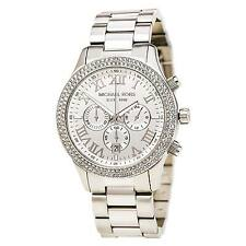 Michael Kors MK5667 Lady's Layton Chrono Steel Bracelet Watch