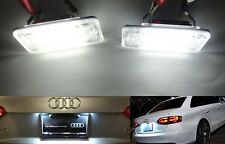 SAMSUNG SMD LED License Plate Light kit No Error Audi A3 S3 8P A4 S4 8E 8H RS4