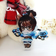 Game Overwatch Cute Mei Key Chain Key Ring Key Ring Pendant For Gift New