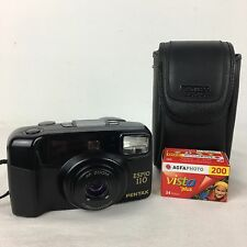 Pentax Espio 110 Zoom 35mm Film Compact Camera LOMO RETRO + Case and NEW FILM