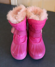 Circo Girls Snow Boots Pink Thermolite Winter Size 5