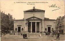 CPA PARIS 17e-Eglise Sainte Marie des Batignolles-Rue Legendre (322474)