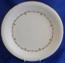 "A ROYAL WORCESTER 'GOLD CHANTILLY' 9 1/8"" LARGE SOUP BOWL"
