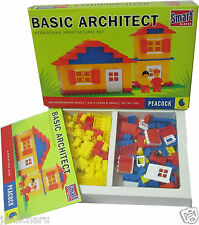Basic Architect Smart Building Blocks for kids 180 pcs inerlocking pcs