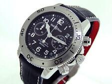 Bell & Ross Chronograph Diver 300m 500s 31 91 78 40mm Black Dial LNIB