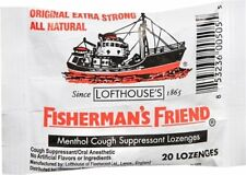 Fisherman's Friend Lozenges Original Extra Strong 20 Each