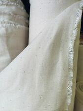 "Heavy Weight Calico Fabric 63"" Wide 100% Cotton £19 For 4 Metres"