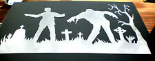 high detail airbrush stencil zombies 3   FREE UK POSTAGE