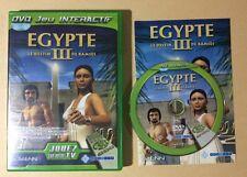 DVD Jeu Interactif EGYPTE III 3 LE DESTIN DE RAMSES Nobilis TV