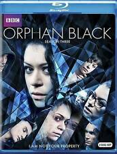 Orphan Black: Season 3 (Blu-ray Disc, 2015, 2-Disc Set) *Brand New Sealed*
