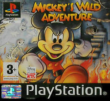 Mickey 's Wild Adventure para ps1 * bueno * (con embalaje original)