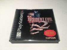 Resident Evil 2 Dual Shock (PlayStation PS1) Black Label Game Complete Nr Mint!