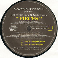 MOVEMENT OF SOUL - Pieces - Presents Kalim Shabazz & Nick Jones  Element  EMT01