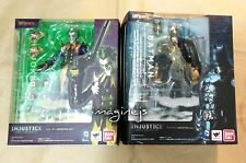 new BANDAI S.H. Figuarts SHF DC Batman & Joker Injustice Ver. figure SET of 2P
